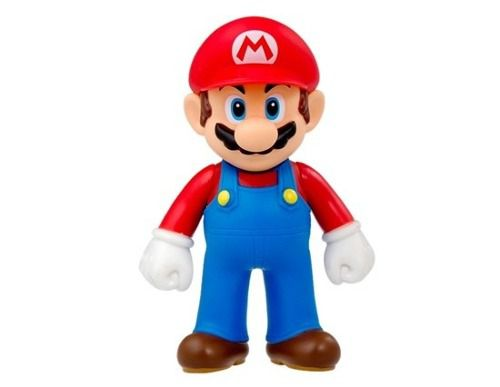 Boneco Super Mario Collection 23cm Box Mario