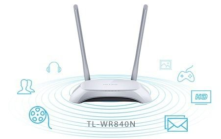 Roteador Wireless TL-WR840N 6.0 - TP-Link