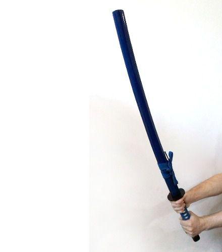 Espada Katana Samurai 103cm Novo Azul  + Suporte
