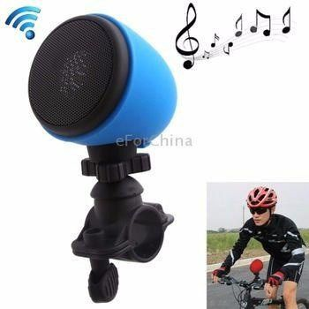 Caixa De Som Bluetooth Para BIcicleta e Carrinho de Bebê - Bike Speaker