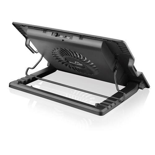 Cooler e Apoio Para Notebook Até 17 Polegadas AC166 Multilaser