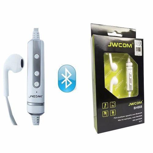 Fone Ouvido Sem Fio Bluetooth BH668 Jwcom