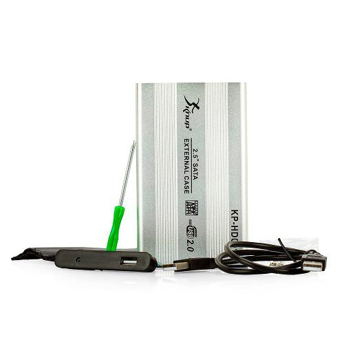 Case Para HD Notebook Sata 2,5 - Usb 2.0