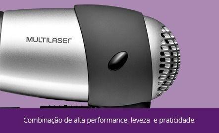 Secador De Cabelo Bivolt Multilaser Eb01 1200w