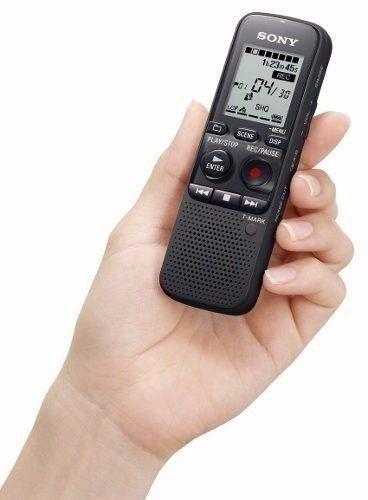 Gravador Voz Digital 4gb Memória - Px240 Sony
