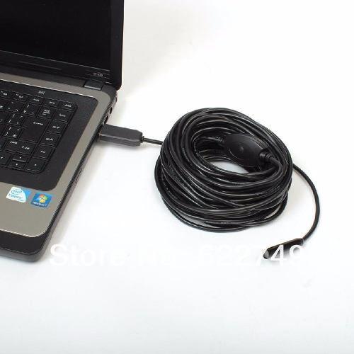 Sonda 10 Metros USB Boroscópio Micro Câmera Com Leds