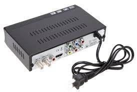 Conversor TV Sinal Analógico Para Digital Com Gravador