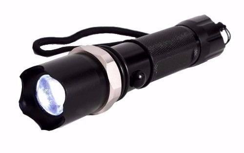 Lanterna Tática Cree Led Q5 Com Sinalizador