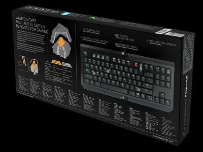 Teclado Mecânico Blackwidow Tournament Edition Stealth - Razer