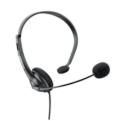 Telefone Com Fio Base e Headset Telefonista Hst-6000 Elgin