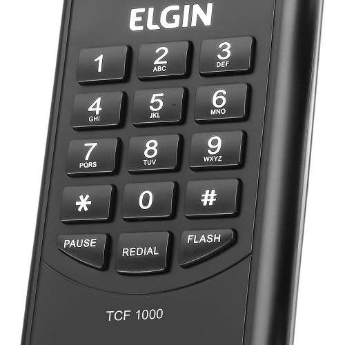 Telefone Com Fio Gondola Ou Parede Tcf-1000 Elgin