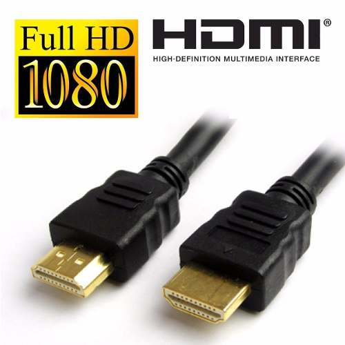 Cabo Hdmi 3m 1.4 - 3d Fullhd 1080p