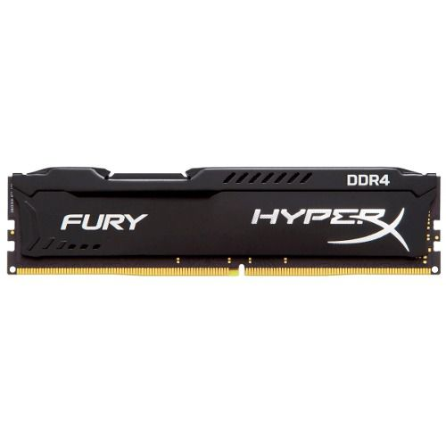 Memória 8Gb DDR4 2400mhz Gamer Hyperx Fury Kingston