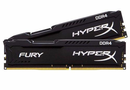 Memória 8Gb DDR4 2400mhz Gamer Hyperx Fury Kingston