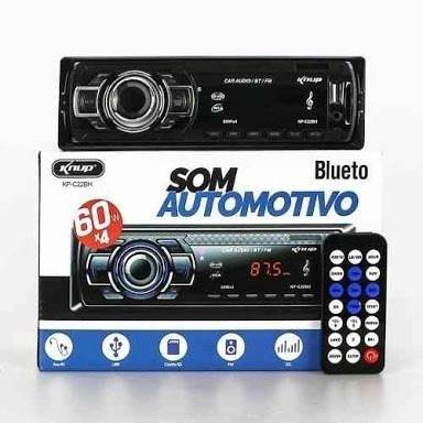 Rádio Automotivo Bluetooth Com Visor Mp3/ Sd/ Am/ Fm/ Usb - Knup