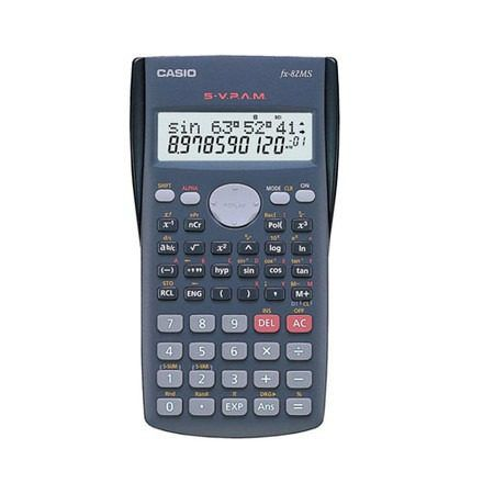 Calculadora Científica Digital Fx-82ms Casio
