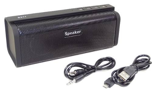 Caixa De Som Bluetooth Portátil Fm Mp3 Aux 10w Speaker S311