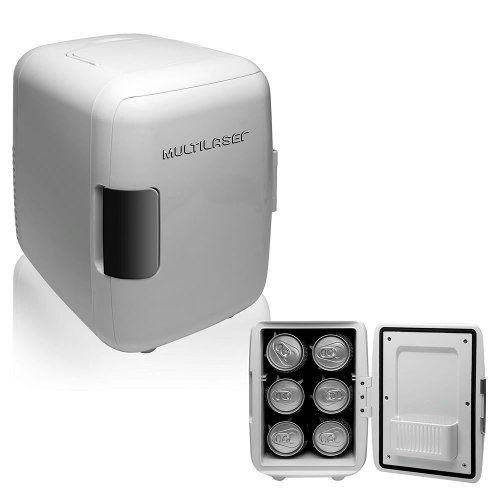 Mini Geladeira Multilaser Portátil 4 Litros 110v - Tv009