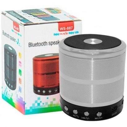 Mini Caixa Som Superbass Bluetooth Fm Mp3 Cartão Microsd