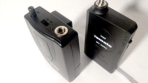 Microfone Sem Fio - Headset Com Base - Mt-2201 Tomate