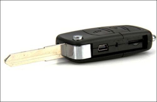 Câmera Espiã Chave Canivete de Carro