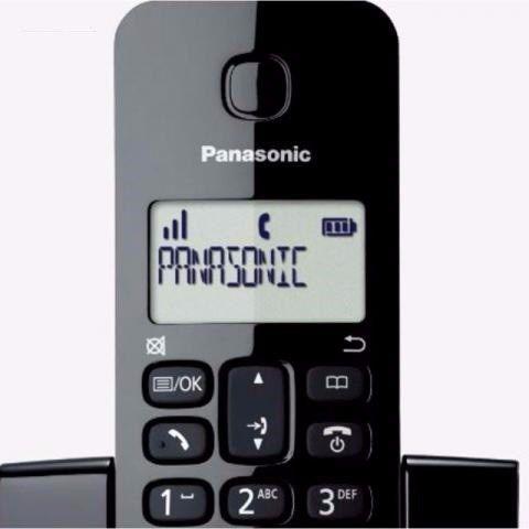 Telefone Fixo Sem Fio Ghz  Digital KX-TGB110LB Panasonic