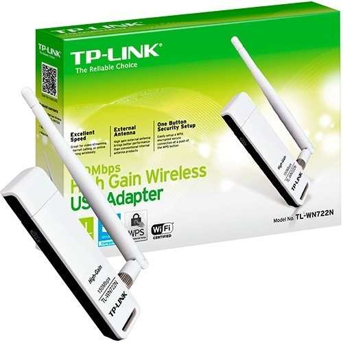 Adaptador Usb Wireless 150mbps WN722n Tp-link