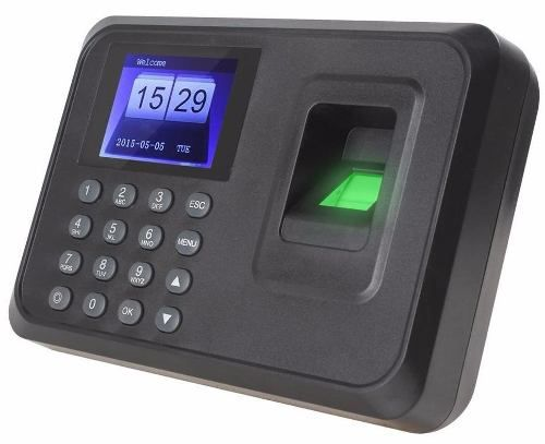 Relógio Ponto Digital Leitor De Ponto Biométrico Português