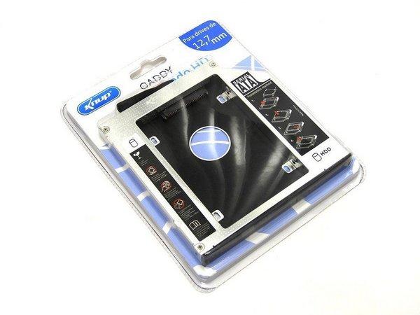 "Adaptador Caddy 12,7mm para HD ou SSD 2,5"" SATA KP-HD009 - Knup"