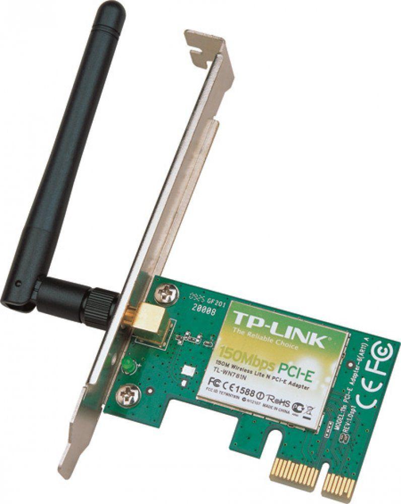 Adaptador PCI Express Wireless N TL-WN781ND - TP-Link