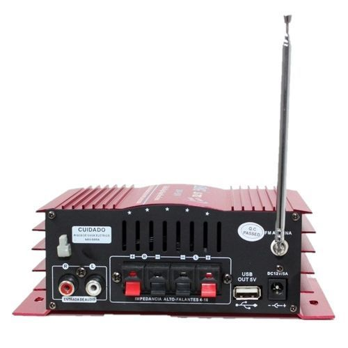 Amplificador Karaokê MP3 Bluetooth Radio Fm Usb LE-702 - Lelong