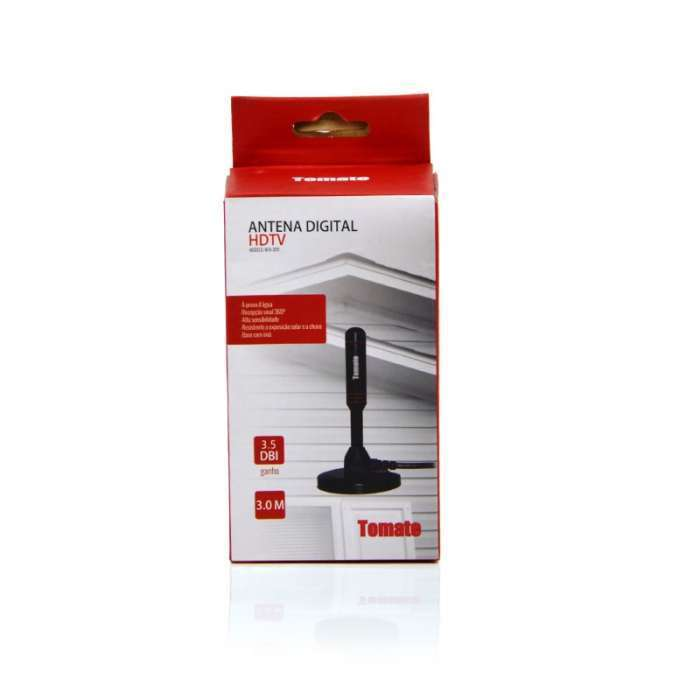 Antena para TV Digital HDTV MTA-3011 - Tomate