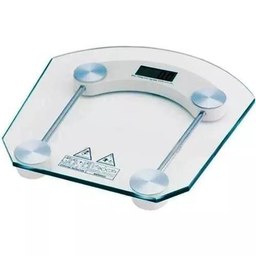 Balança Corporal Até 180kg Pessoal Digital - Tampo de Vidro