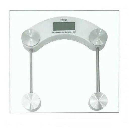 Balança Corporal Digital de Alta Precisão Suporta Até 180kg 123util Ud334