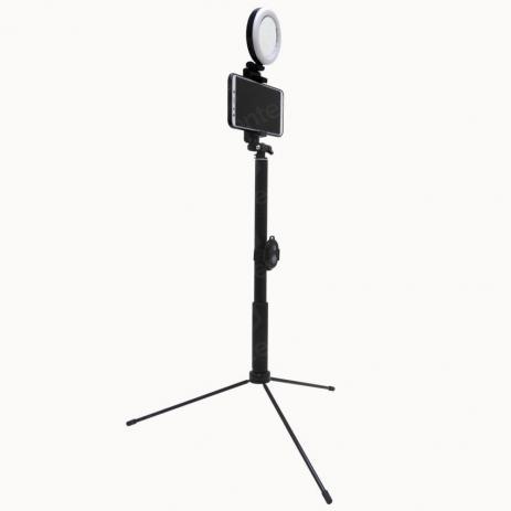Bastão de Selfie Com Luz - Tomate - MLG-059