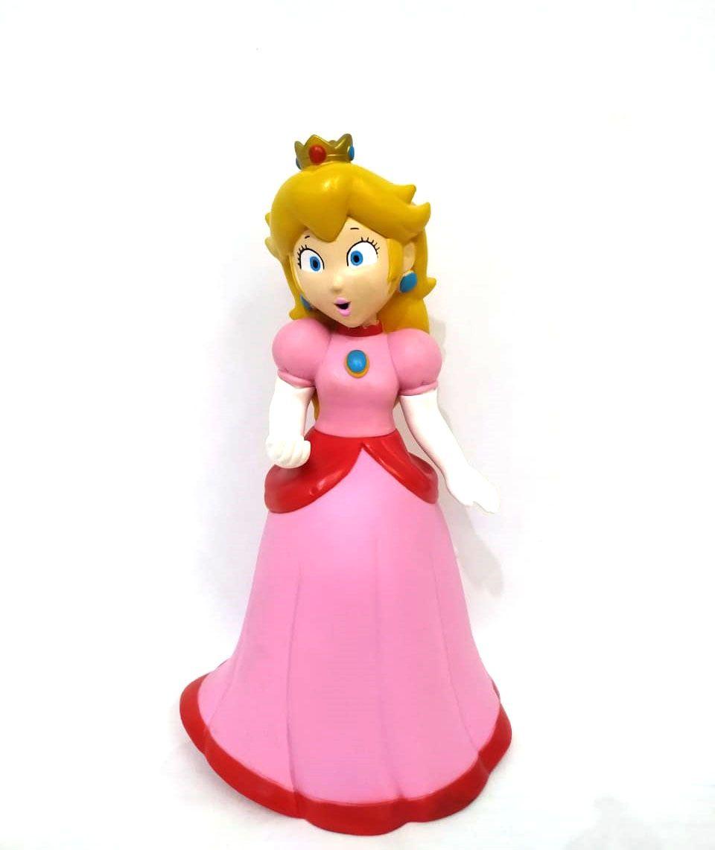 Boneca Princesa Peach Coleção Mario Bros