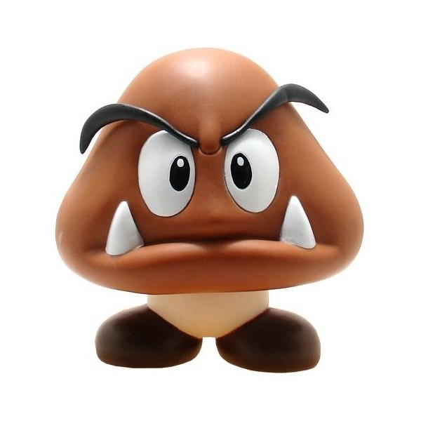 Boneco Colecionável Goomba - Super Mario