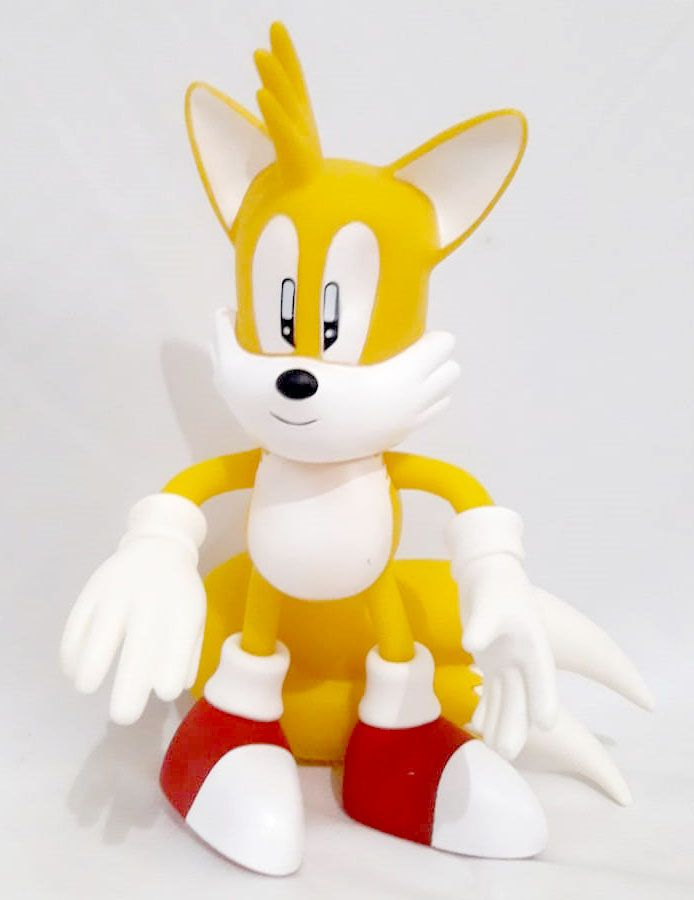 Bonecos Tails Collection Turma do Sonic