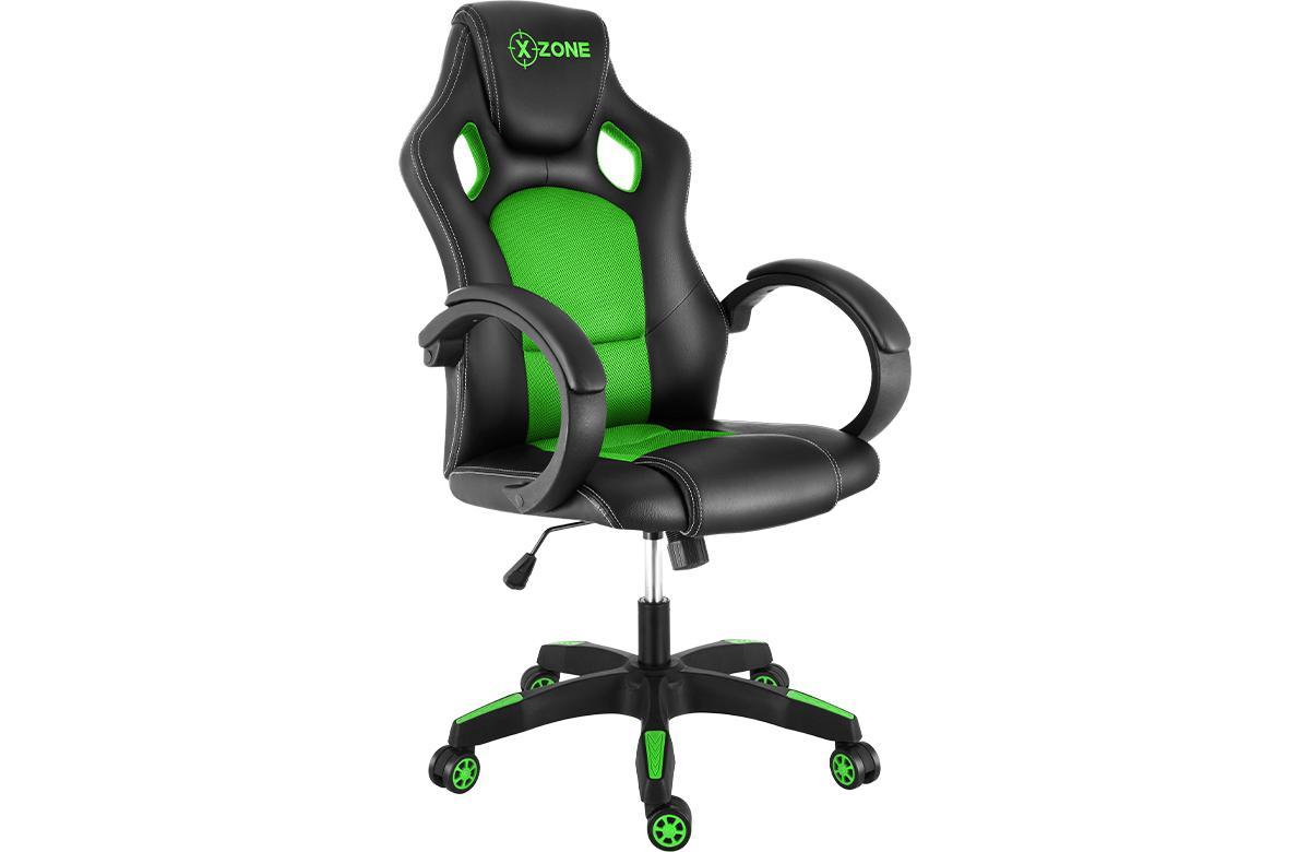 Cadeira Gamer Reclinável com Design ergonômico e confortável com giro de 360° X-zone Cgr-02