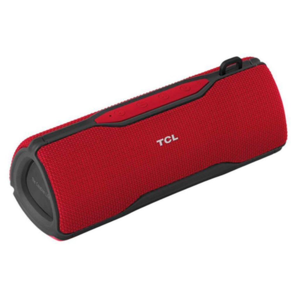 Caixa Bluetooth Extra Bass À Prova D Água 16w Vermelho ipx7 Tcl Bs16b