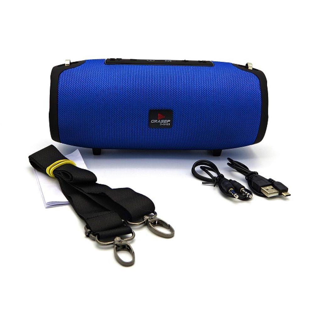 Caixa de som 15W Bluetooth Rádio FM integrado Usb V5.0 Grasep  D-G125