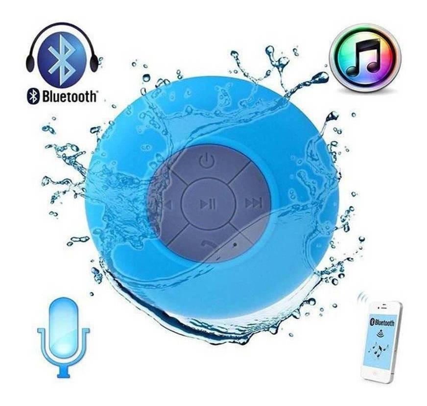 Caixa de Som Bluetooth CS-A6BT à Prova D'água - Exbom