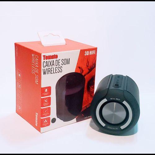 Caixa De Som Bluetooth 3d Hifi Mts-8821 - Tomate