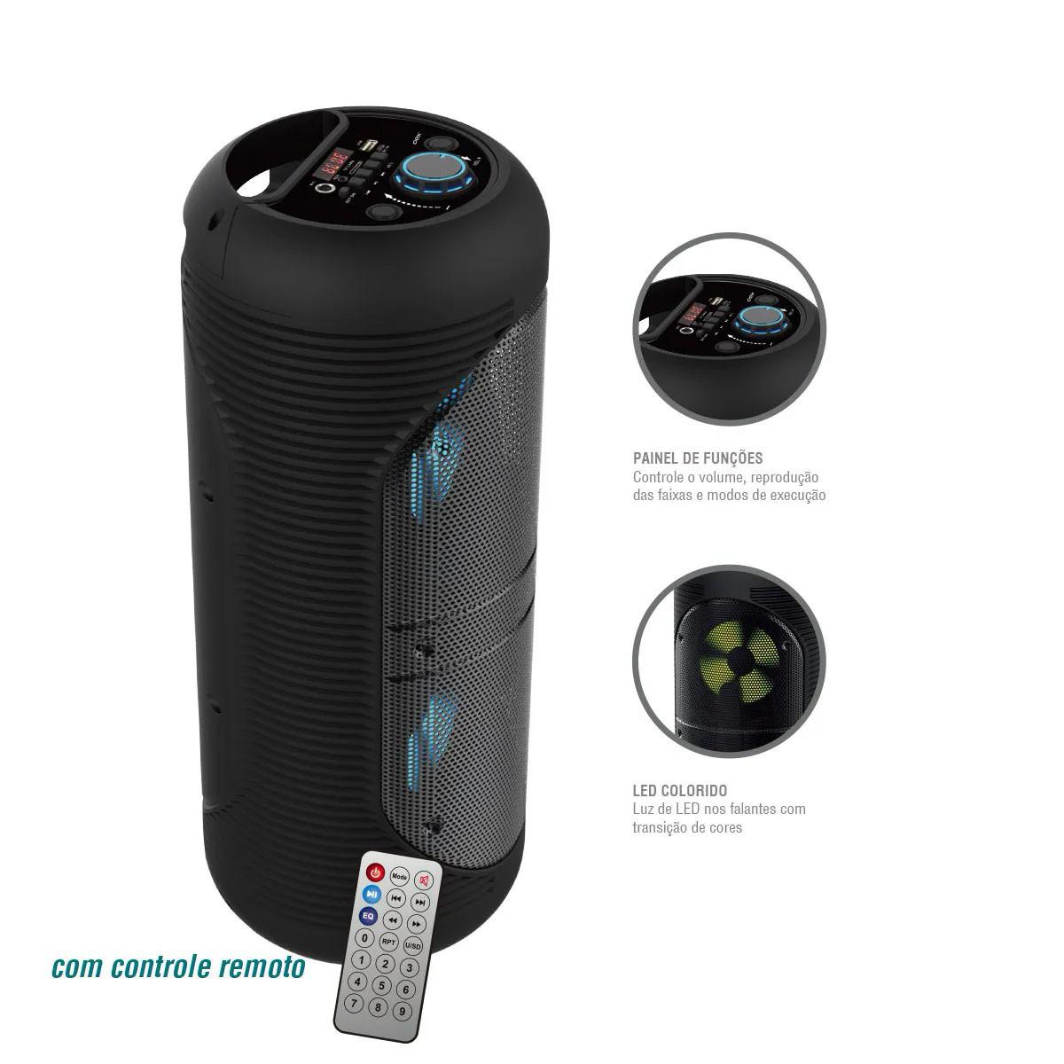 Caixa de Som Bluetooth SK-416 100W - Oex