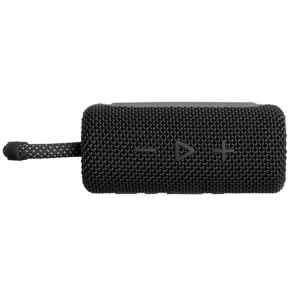 Caixa de Som Portátil JBL à Prova D'água Bluetooth Black - GO3