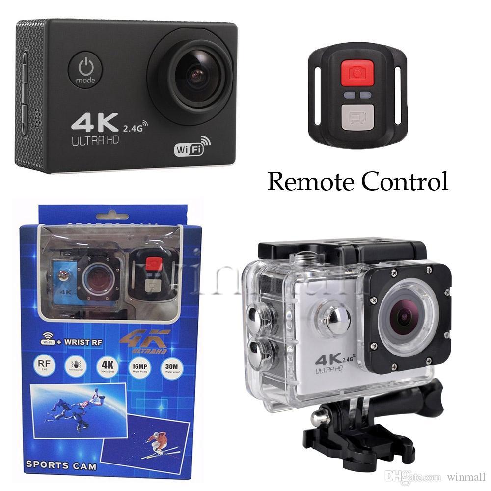 Câmera De Filmagem Esportiva Com Controle 4K FULL HD Entrada Para MICRO SD E Conexão WIFI