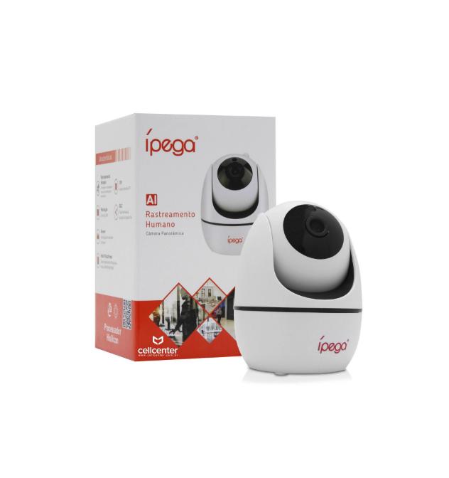 Câmera De Segurança Ip - Full Hd - Wi-fi - 1080p Ípega Kp-ca173