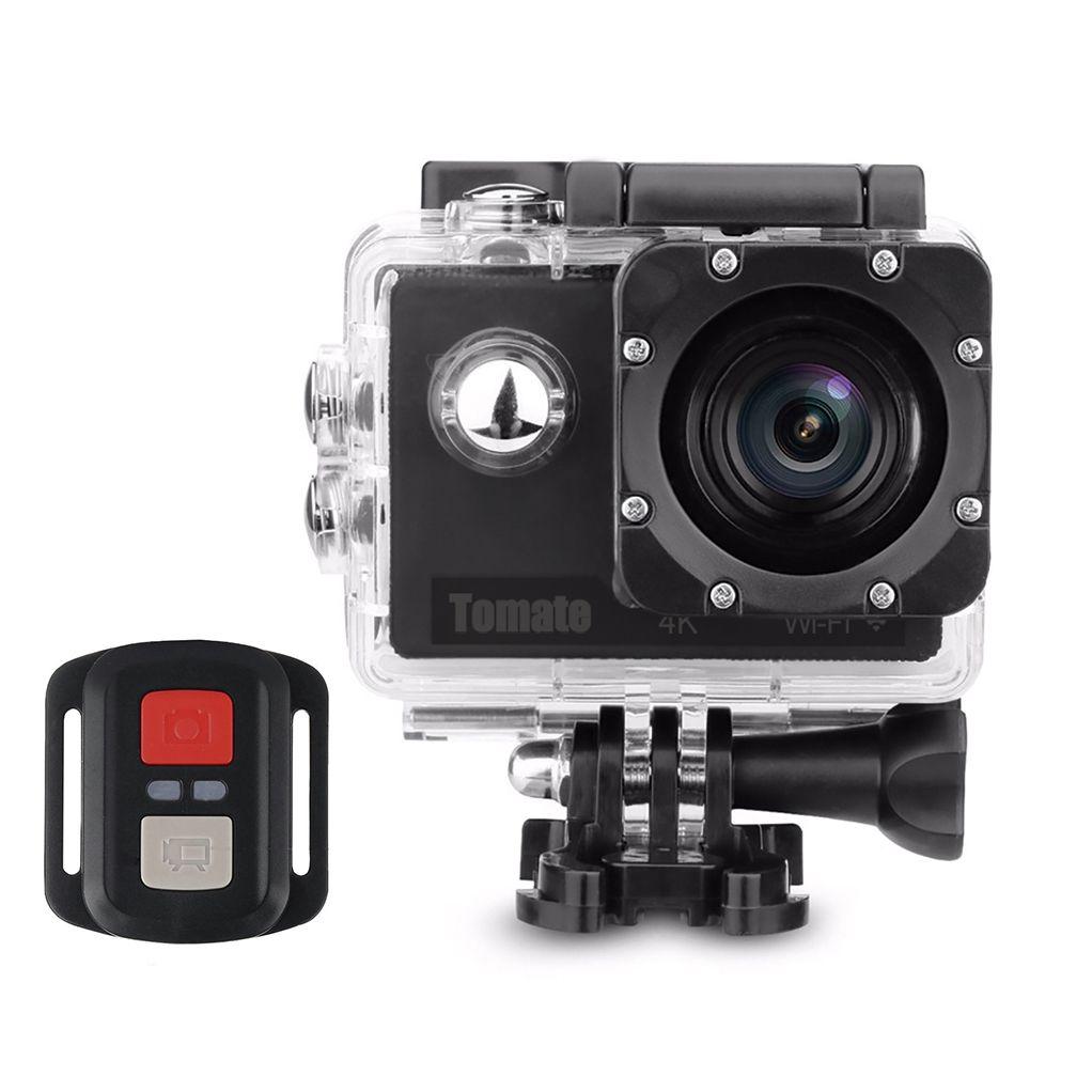 Câmera e Filmadora Esportiva Mergulho - Wi-Fi 4K - MT-1091k