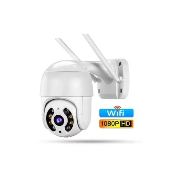 Câmera IP Dome Wi-Fi ABQ-A8 1080p - WiFi Smart Câmera