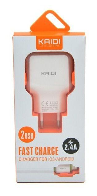 Carregador para Iphone com 2 Portas Usb  Kaidi kd-605